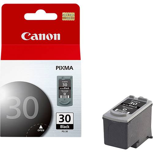 Cartucho Canon Preto Pg-30 Pg30 P/ Ip1800 Ip2500 Mp470 Mx300