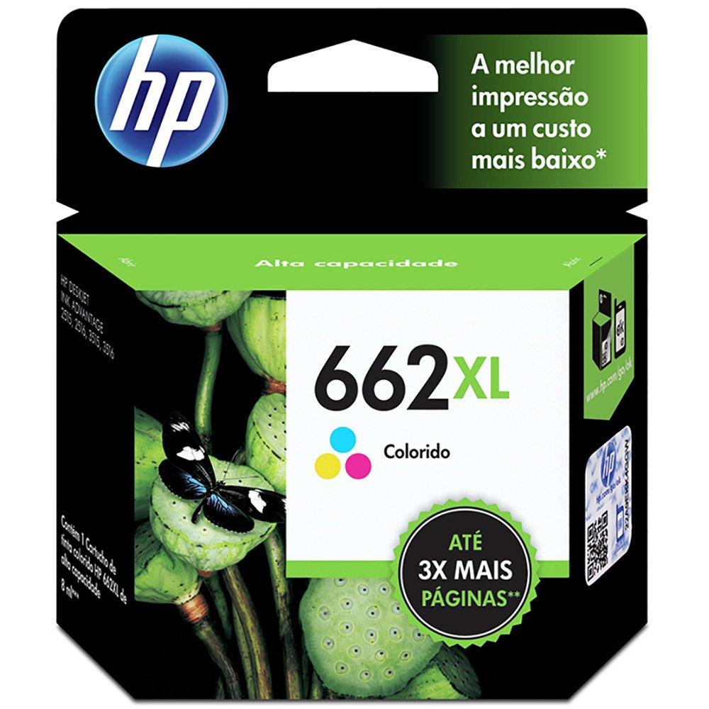 CARTUCHO DE TINTA COLOR (8 ml) HP CZ106AB 662XL