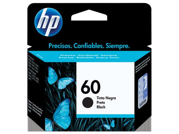 CARTUCHO DE TINTA HP CC640WB 60 PRETO (4,5 ml)
