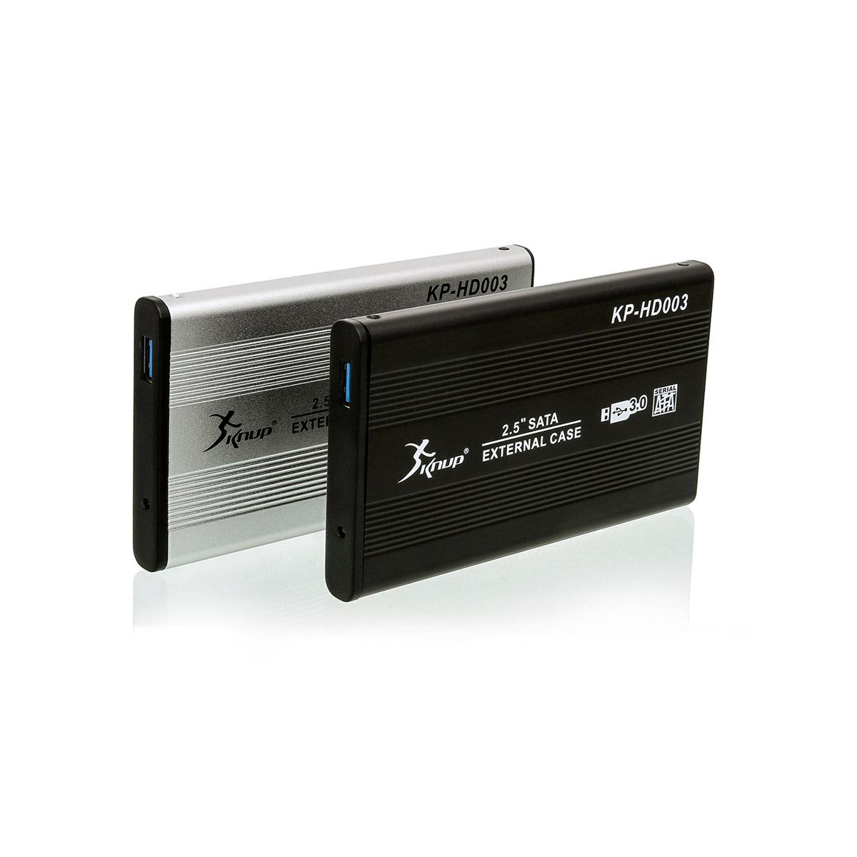 CASE 2,5'' DE NOTEBOOK SATA HD USB 3.0 KP-HD003 PRETO