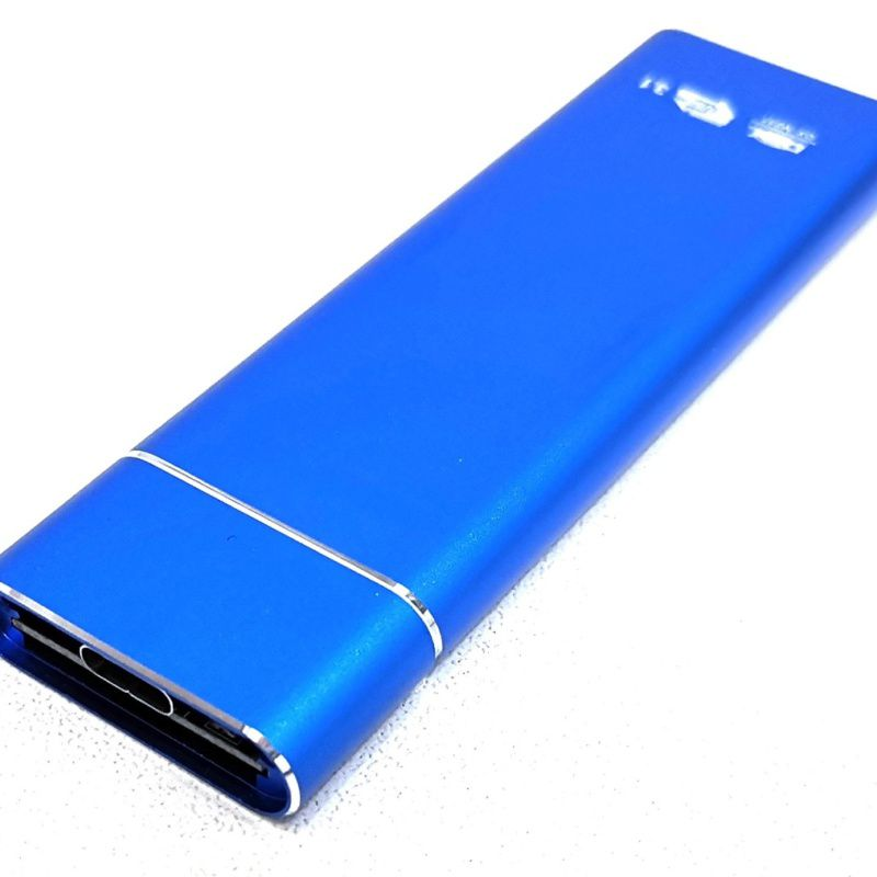 CASE SATA SSD M2 NGFF USB 3.1 TYPE-C DEX DX-M231 AZUL