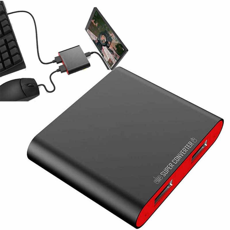 Conversor Bluetooth Teclado E Mouse Android Ipega Pg-9116
