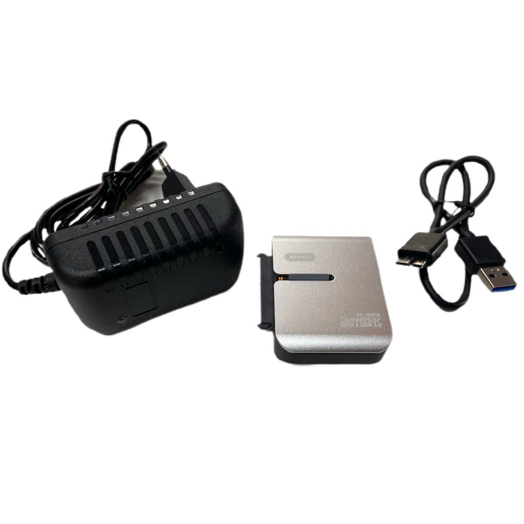 CONVERSOR SATA  X USB 3.0 USB A HD 2,5 E 3,5 /CD-ROM/DVD-RW KNUP C/ FONTE