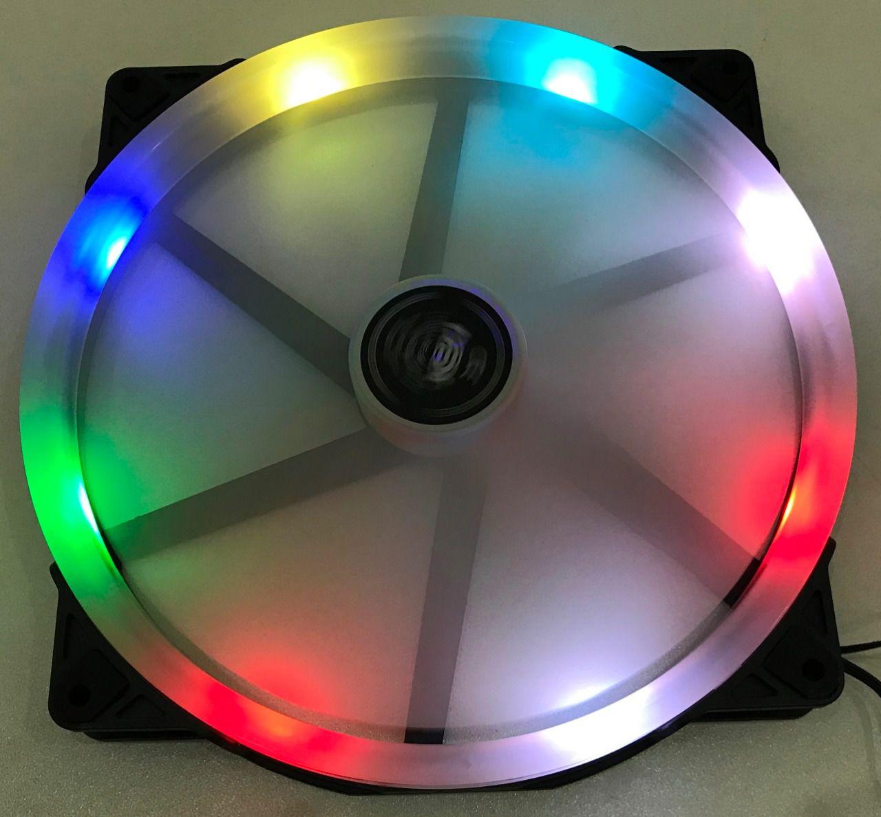 COOLER 200MM COM LED RGB DX-20W DEX