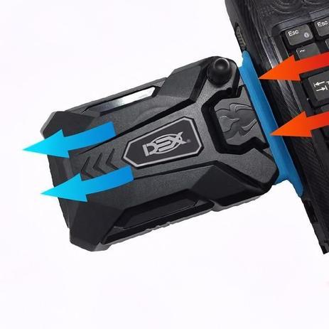 Cooler Exaustor Retirar Ar Quente Do Notebook dx-1000 Dex