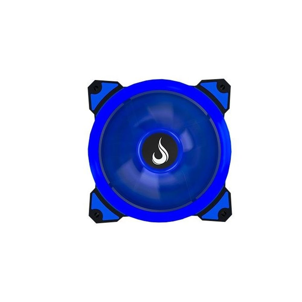 COOLER FAN RISE MODE WIND W1, 120MM, LED AZUL - RM-WN-01-BB