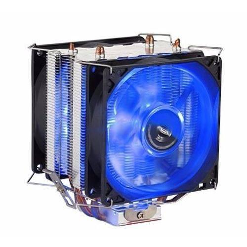 Cooler Universal Cpu DUPLO azul Intel Amd 1150 AM3 FM DX-9100d
