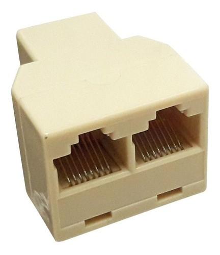 Duplicador Rj45 1 X 2 Saídas Só Funciona 1 De Cada Vez LKP-501