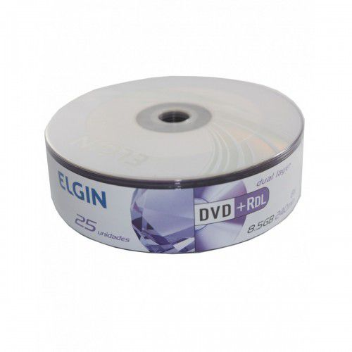 DVD+R DL  8.5GB ELGIN C/25 DUAL LAYER