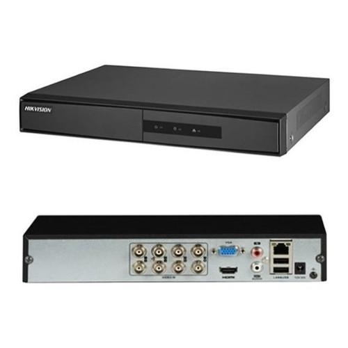 DVR HIKVISION 1MP TURBO HD 8 CANAIS DS7208HGHIF1 SHD