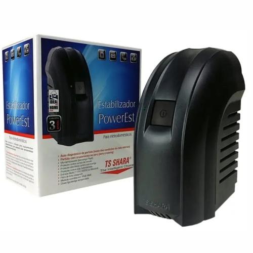 Estabilizador Ts Shara 300va Powerest Mono 115v 4 T 9000