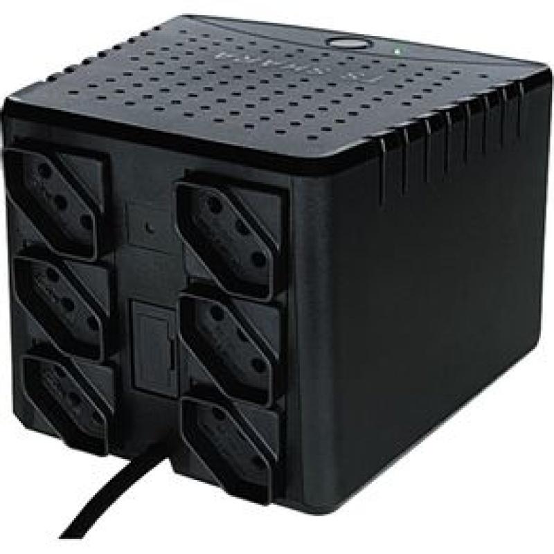 Estabilizador Ts Shara Powerest 1000va Mono 115v 6 tomadas 9006