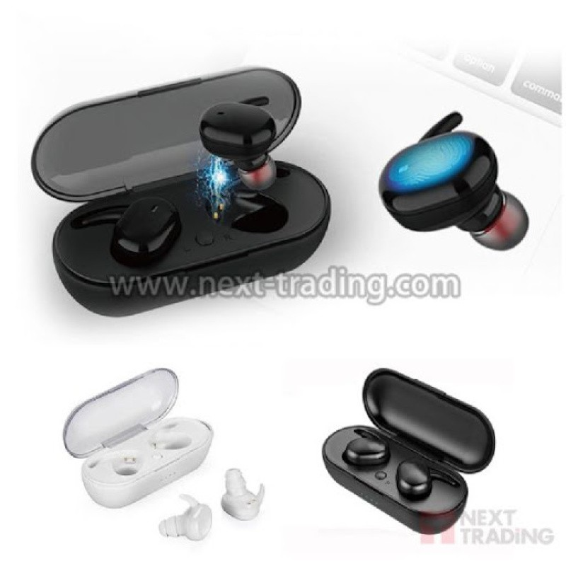 FONE BLUETOOTH PRETO 5.0 INTRA-AURICULAR TWS4 PAINEL TOUCH ESTEREO JB1350