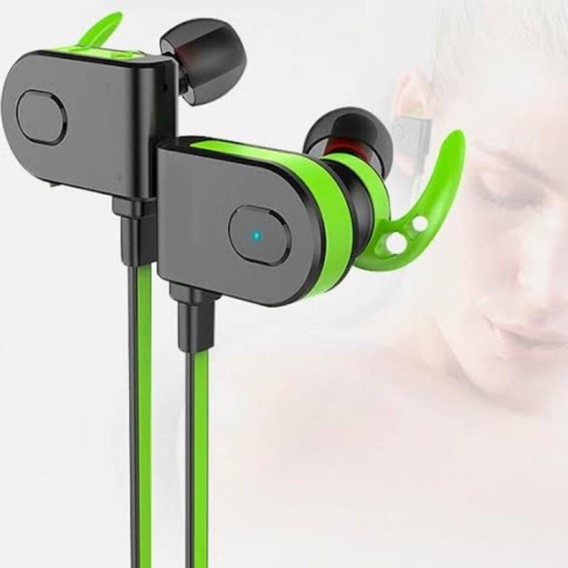 Fone De Ouvido Bluetooth 4.1 Sem Fio Wireless Estereo Sport - LC-706 Verde