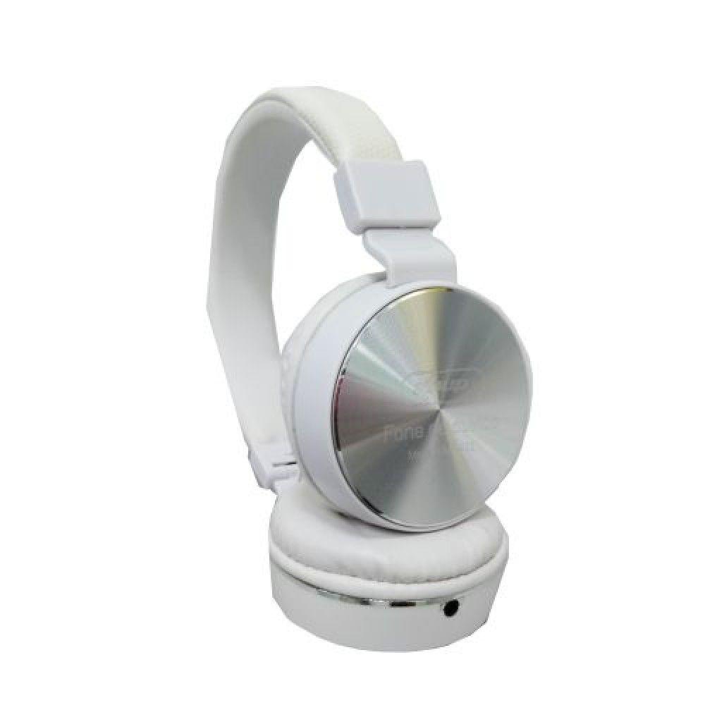 Fone De Ouvido BRANCO Super Bass Com Microfone Kp-432 - Knup P2