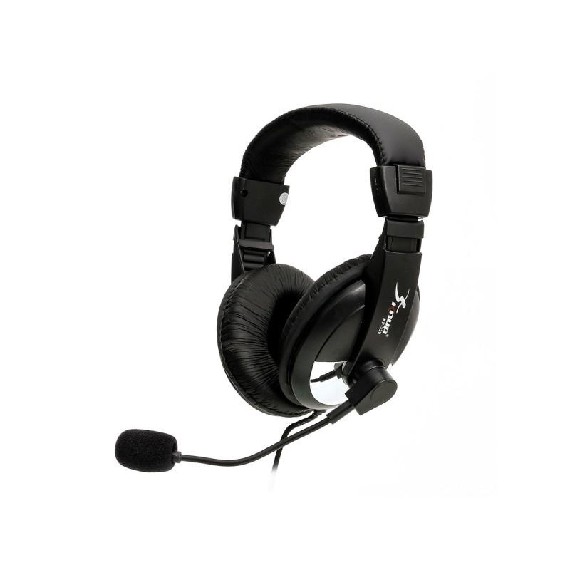 Fone De Ouvido Com Microfone P2 Kp-320 Knup Para Notebook Pc Detalhe Prata