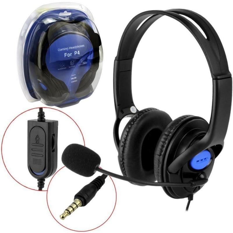 Fone De Ouvido Com Microfone Para Playstation 4 e Xbox One Kp-352 Knup (conector P3)