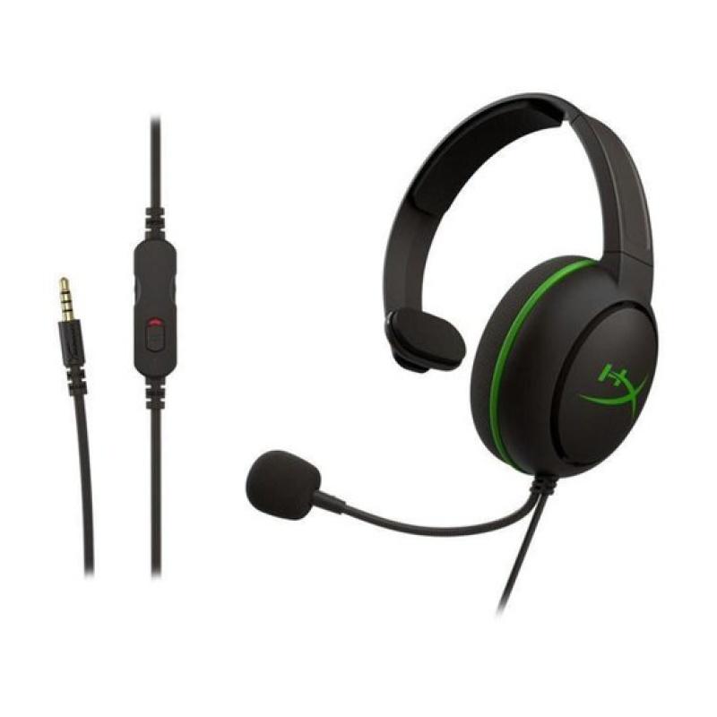 Fone Headset Gamer Hyperx Cloudx Chat Xbox One Serie X Preto
