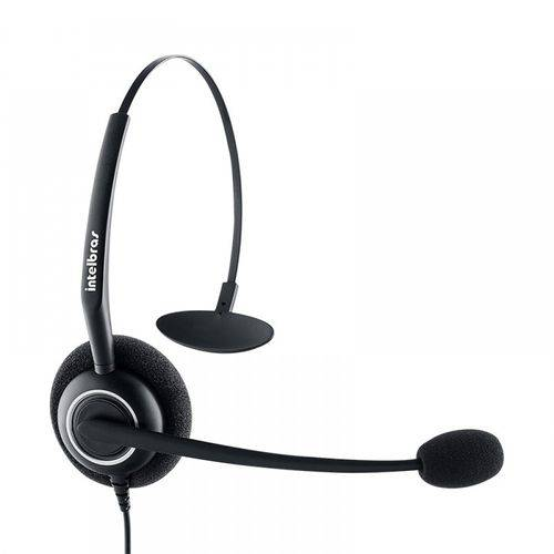 Fone Headset Intelbras Chs55 Ajustável Em PVC
