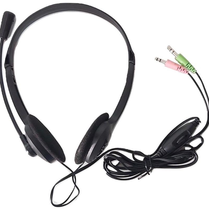 Fone Para Notebook E Pc C/ Microfone Headset P2 Preto- Ph002 Multilaser
