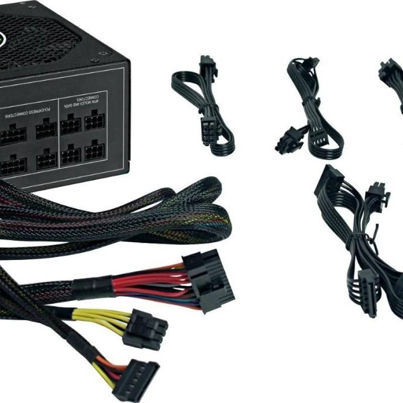 FONTE ATX 1050W REAIS 80Plus SILVER GM1050 BOX GAMEMAX