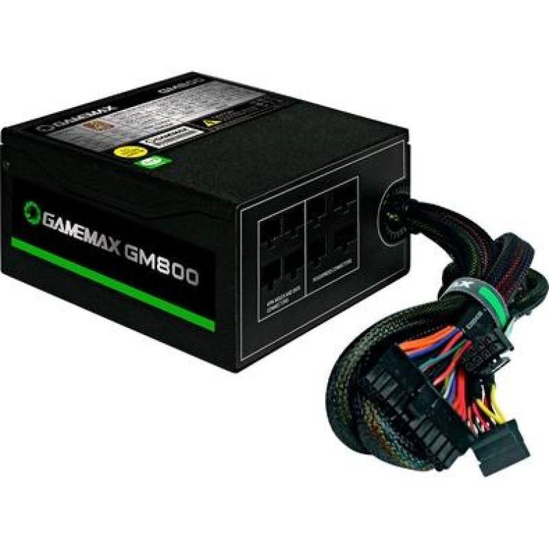 FONTE ATX 800W REAIS 80Plus BRONZE GM800 BOX GAMEMAX
