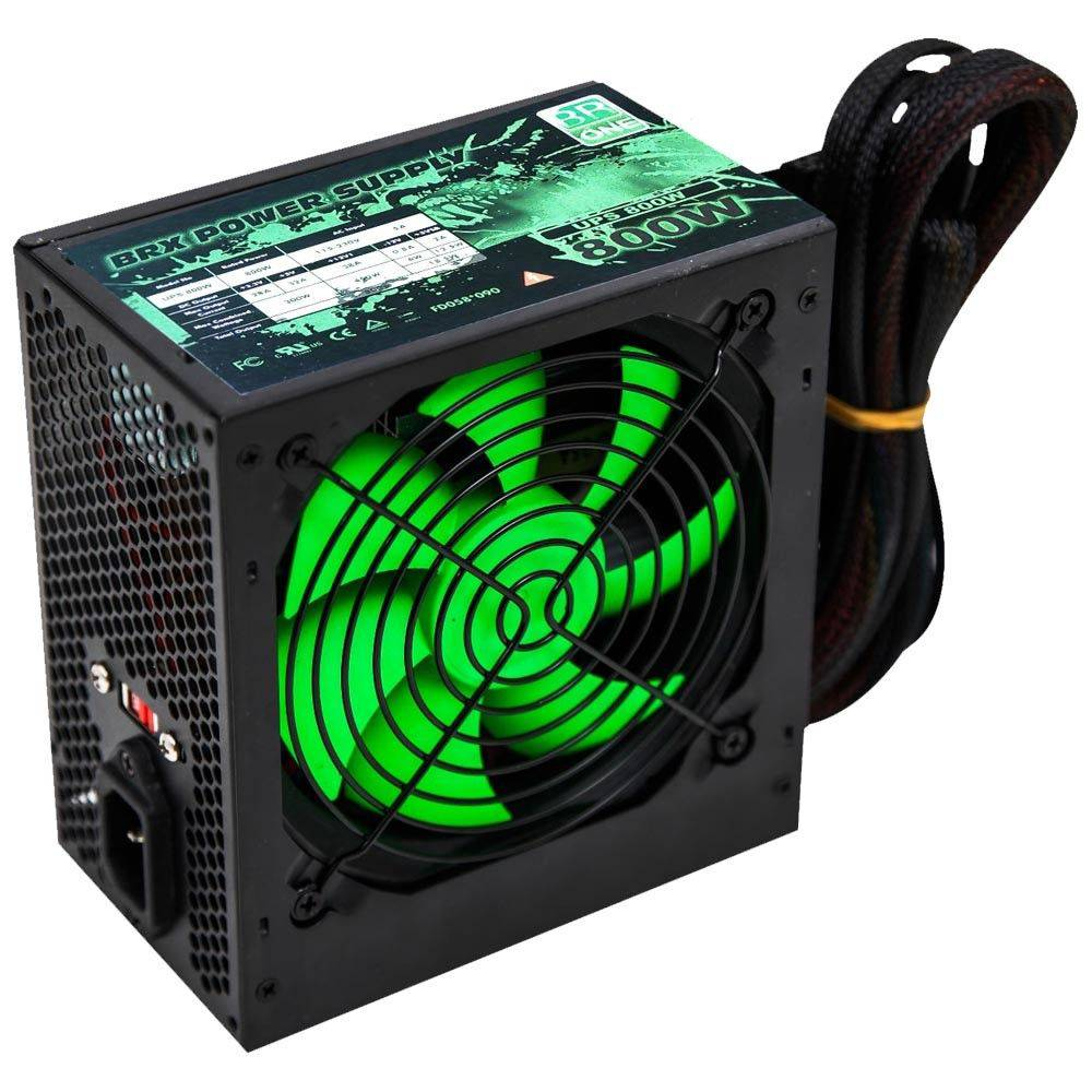 Fonte Atx 800w Real Brx Up-s800w Gamer