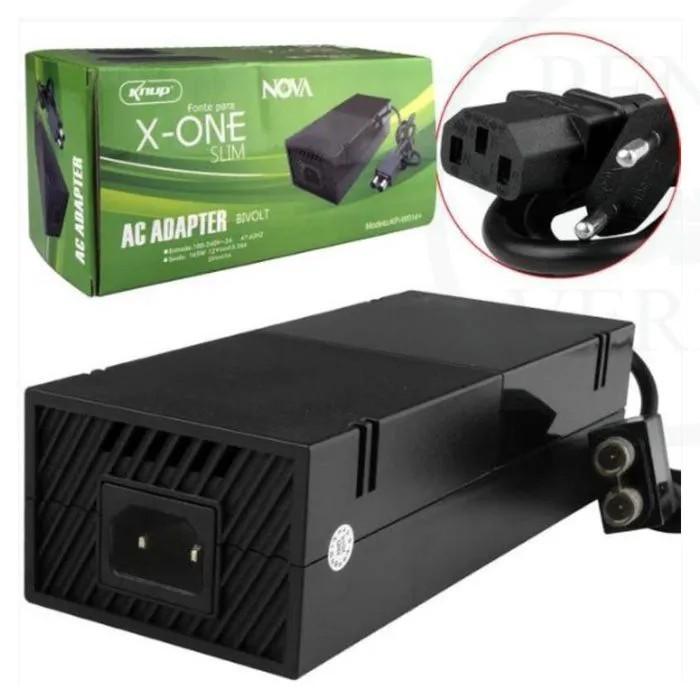 Fonte Carregador Para Xbox One Slim 165w 12v 13.34a Kp-w014+