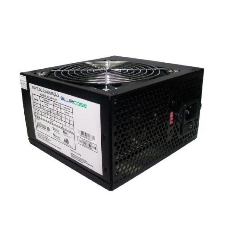 FONTE DE ALIMENTACAO 500W C/CABO S/ CAIXA (BLU500-K ATX) - BLUECASE