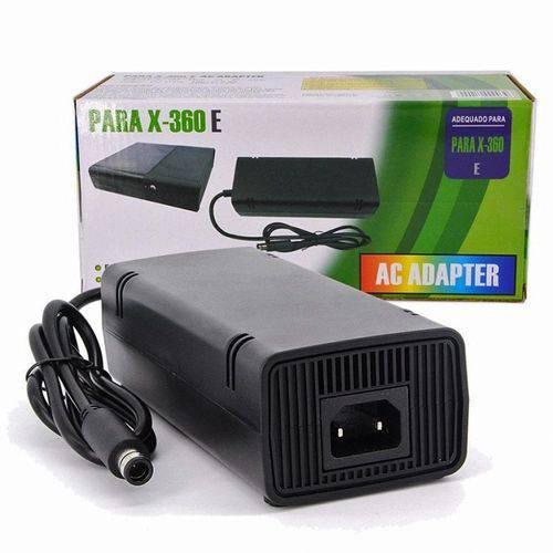 Fonte Xbox 360 Super Slim 120w Bivolt Automatico 110v 220v x-360e