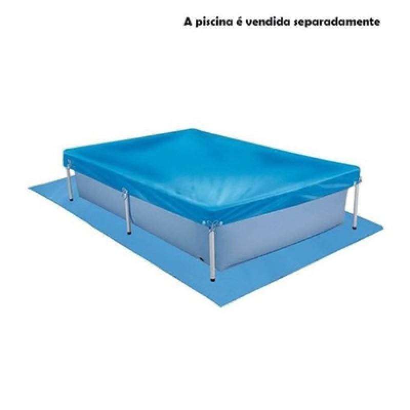 Forro De Proteção Para Piscina 2000 Litros Mor Standard Azul 1453