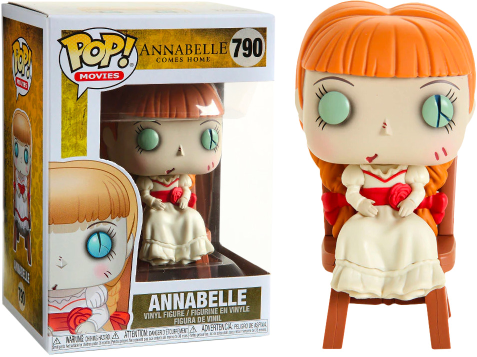 FUNKO POP! ANNABELLE COMES HOME - ANNABELLE IN CHAIR #790