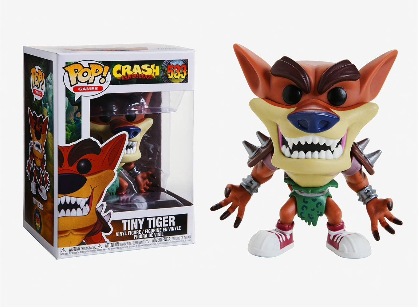 FUNKO POP! CRASH BANDICOOT - TINY TIGER # 533