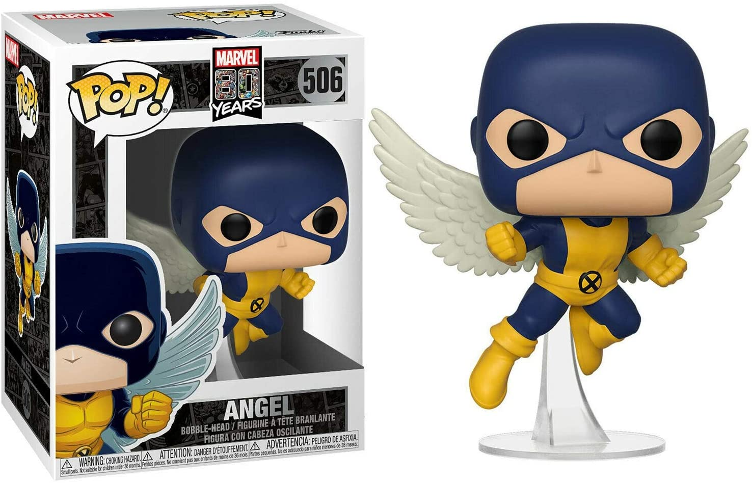 FUNKO POP! MARVEL EDICAO ESPECIAL 80 ANOS - ANGEL - FIRST APPEARANCE #506