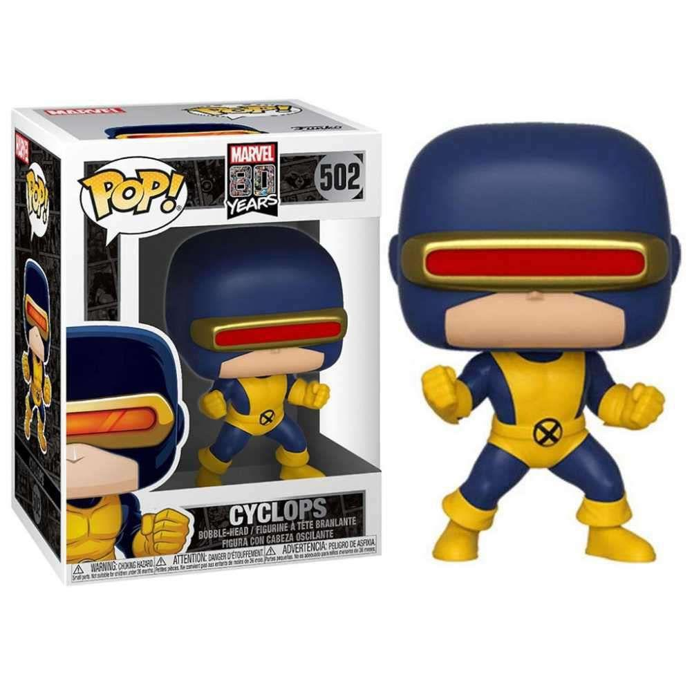 FUNKO POP! MARVEL EDICAO ESPECIAL 80 ANOS* -* CYCLOPS - FIRST APPEARANCE #502