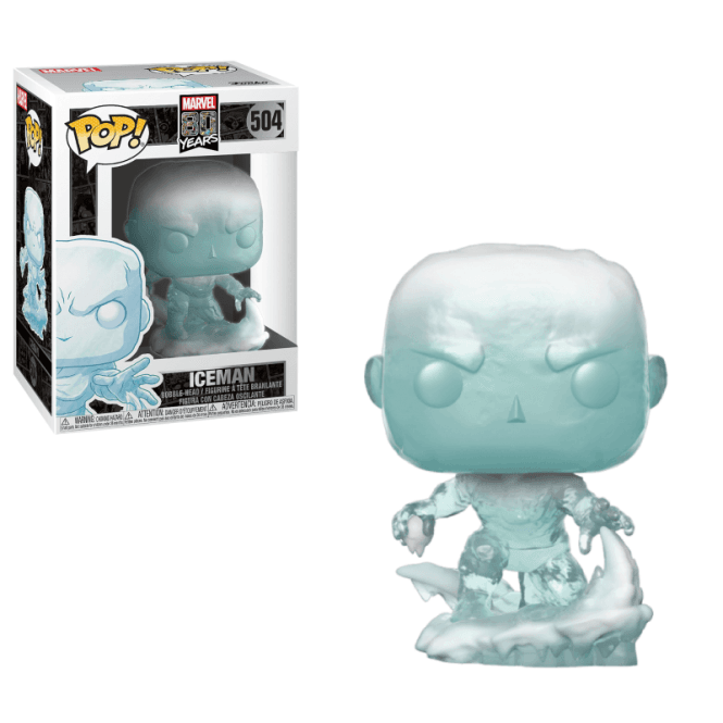 FUNKO POP! MARVEL EDICAO ESPECIAL 80 ANOS - ICEMAN - FIRST APPEARANCE #504