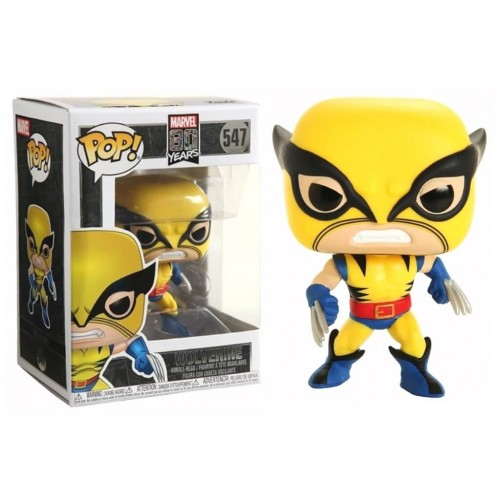FUNKO POP! MARVEL ESPECIAL 80ANOS - WOLVERINE - FIRST APPEARANCE #547