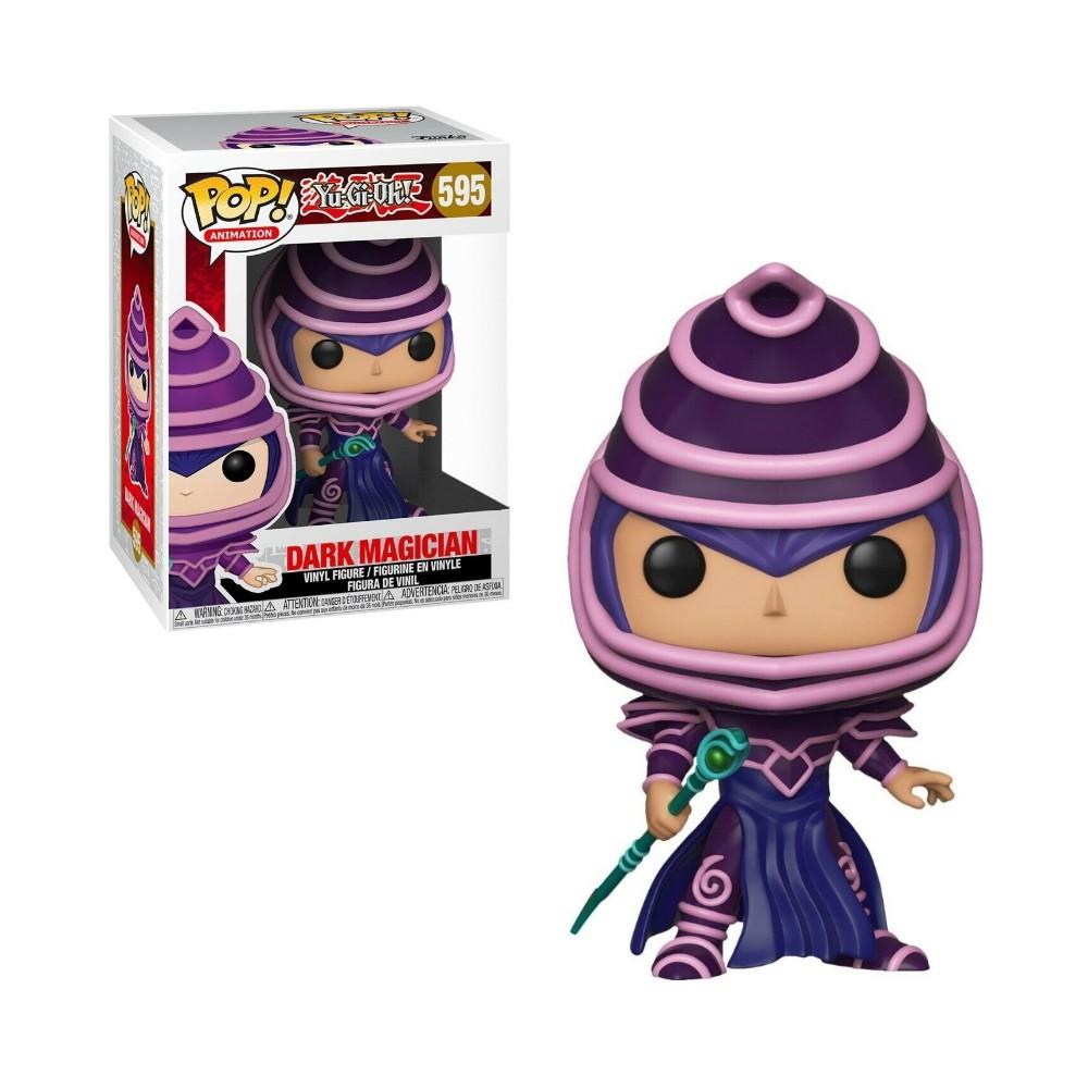 FUNKO POP! YU-GI-OH - DARK MAGICIAN MAGO NEGRO - #595