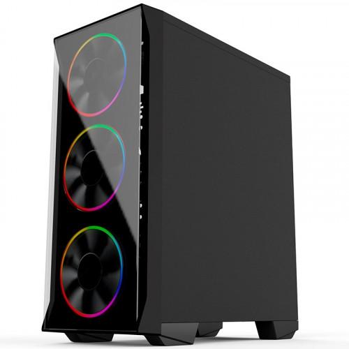 GABINETE GAMER BG-036 PRETO BLUECASE S/ FONTE / USB 3.0