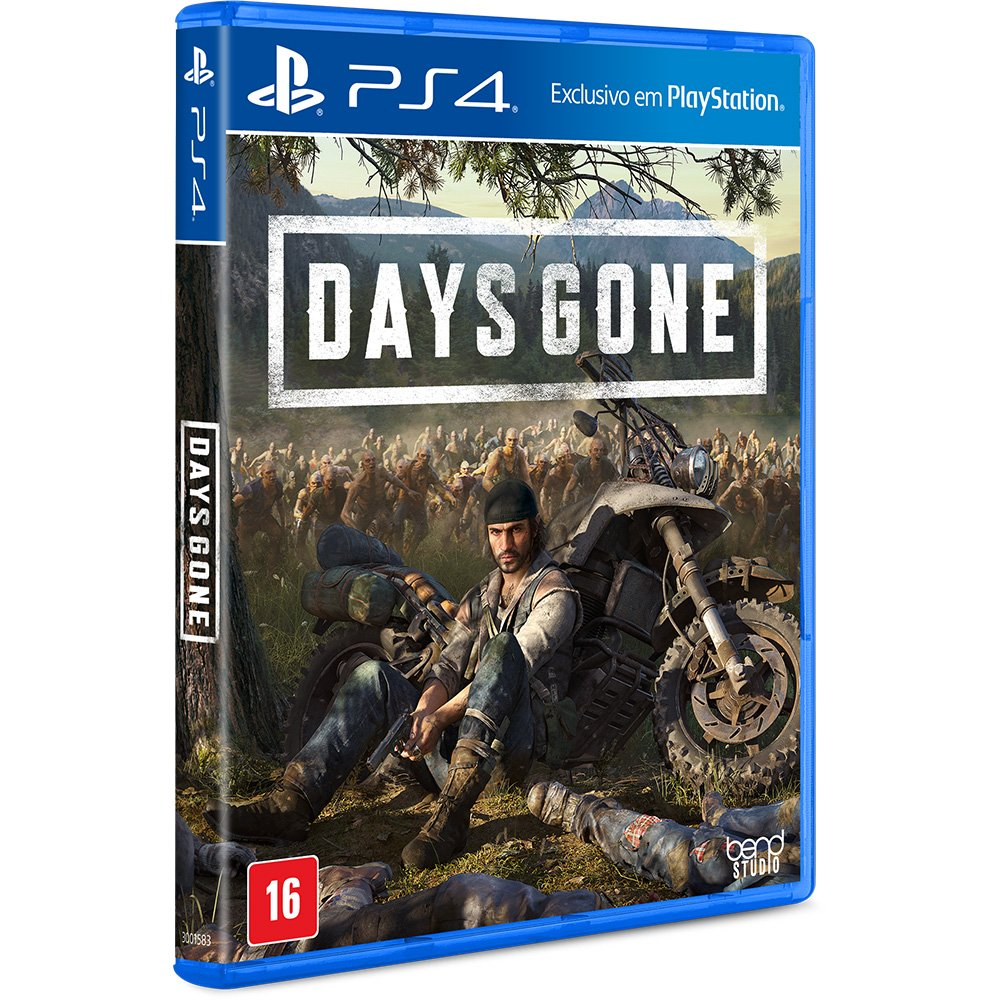 Game Days Gone - PS4 Midia Física