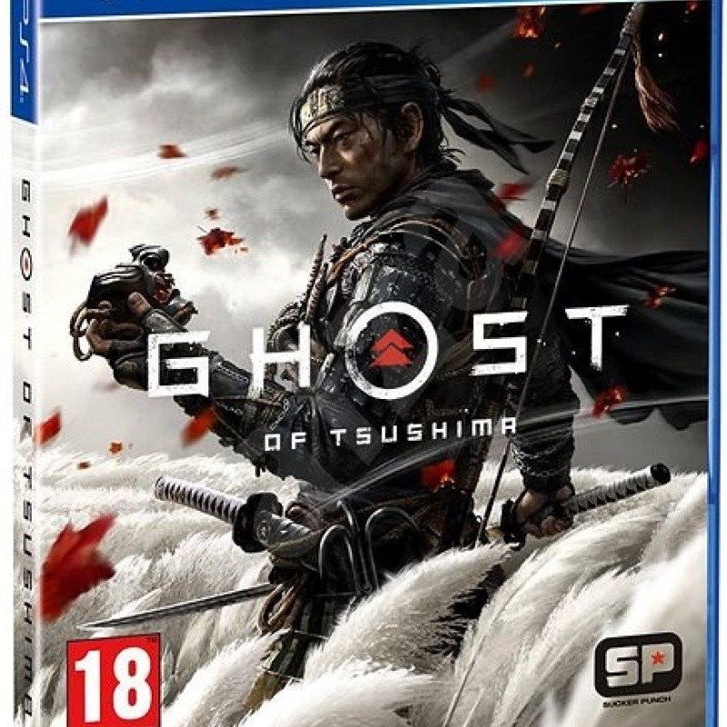Game Ghost Of Tsushima - PS4 Midia Fisica