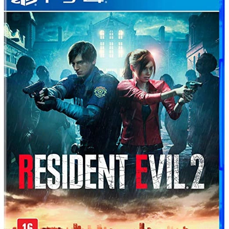 Game Resident Evil 2 - PS4 Midia Física