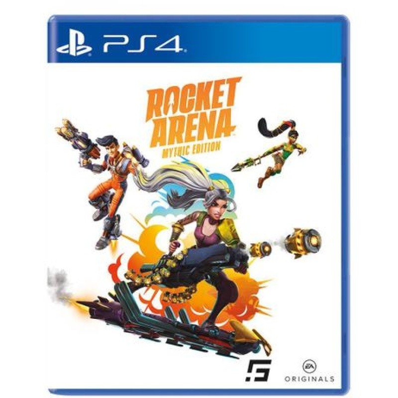 Game Rocket Arena - Mythic Edition Br - PS4 Midia Física #SALDAOGAMES