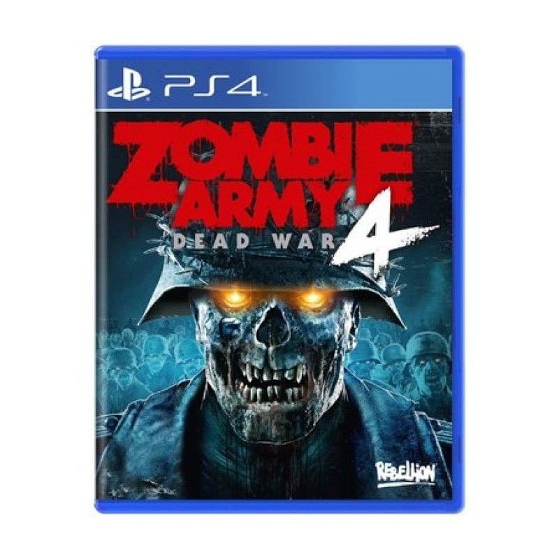 Game Zombie Army 4: Dead War - PS4 Midia Física
