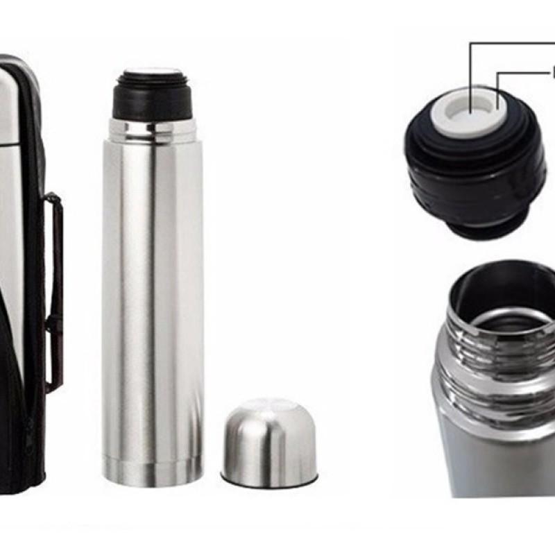 Garrafa Térmica de Aço Inoxidável 1L AK-1001/1001A - Aiker