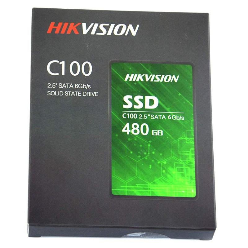 HD SSD HIKVISION 480GB 2,5 SATA 3 HSSSDC100480G