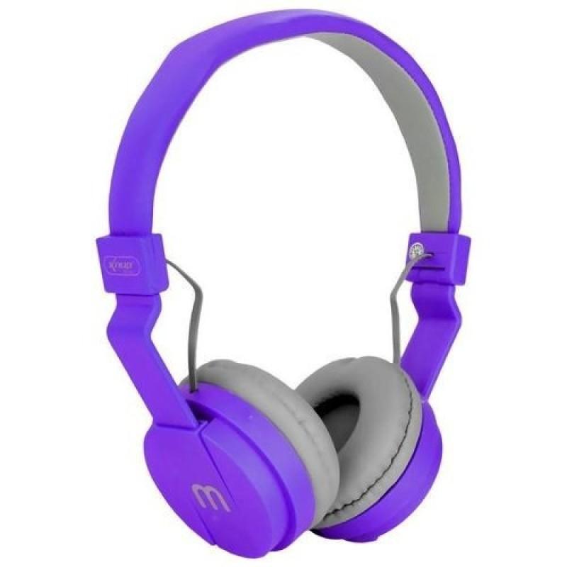 Headfone Gamer Cabo Removível 1,2m E Microfone KP-428 Knup Roxo