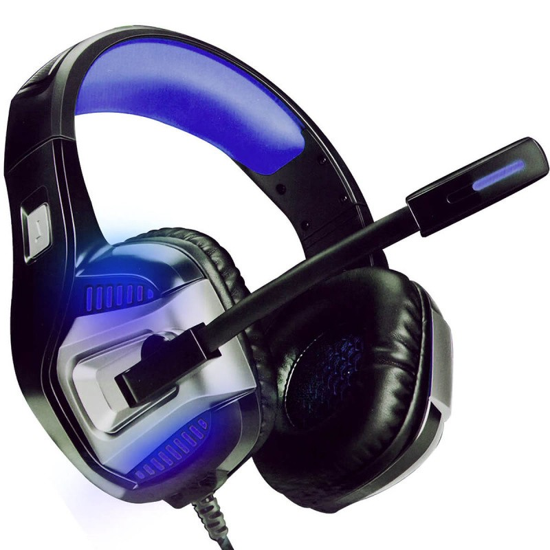 HEADPHONE GAMER 7.1 AZUL DRIVE HYPERXLED  PS4/PC/cel INFOKIT / GH-X1800