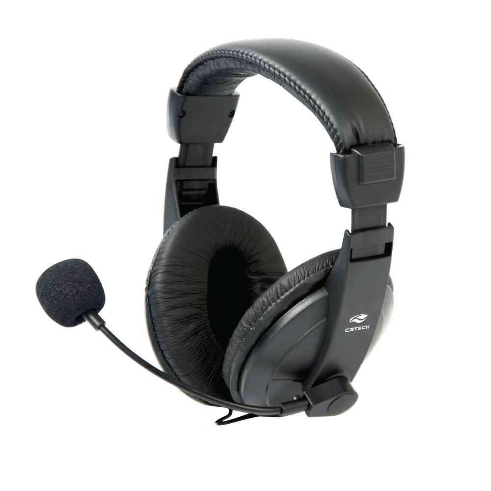 HEADPHONE PRETO VOICER CONFORT PRETO MI-2260ARC C3 TECH@