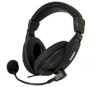 HEADPHONE STEREO C/MICROFONE PRETO ARS-7500 K-MEX@